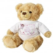 Personalised Pink Fairy Teddy Bear