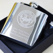 Image Engraved Hip flask