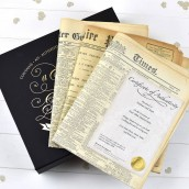 Original Birth Date Newspaper Gift Set