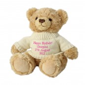 Personalised Tatty Teddy Bear