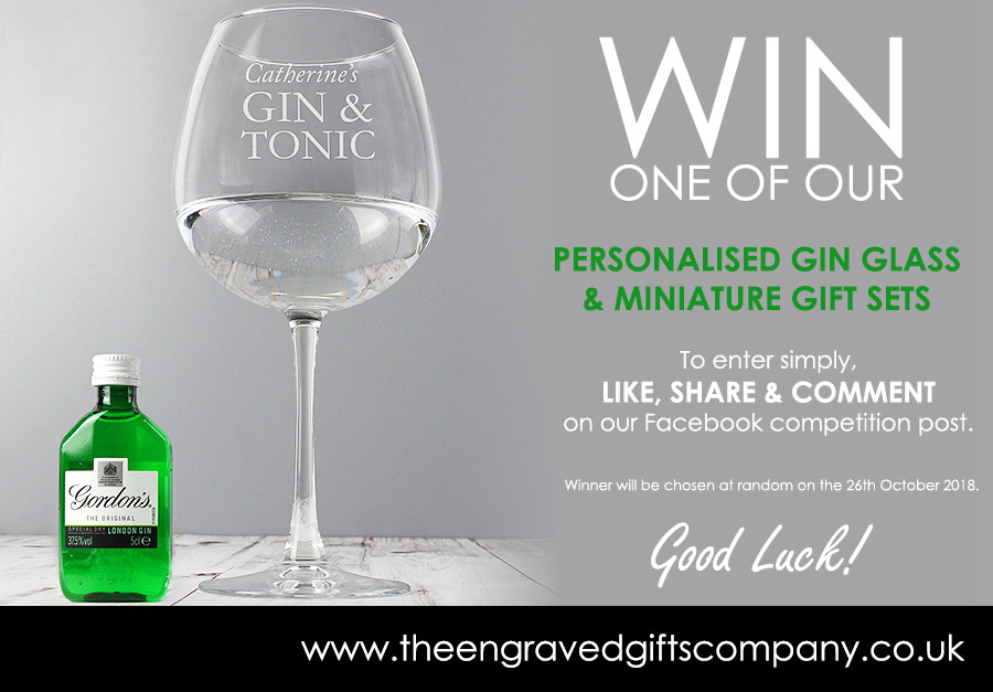 Personalised Gin Gift Set Competition