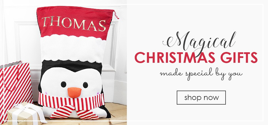 personalised christmas gifts