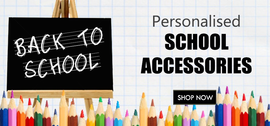 Personalised back to school gifts