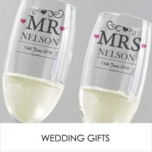 Personalised Wedding Gifts, The Engraved Gifts Company