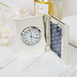 engraved deck clock