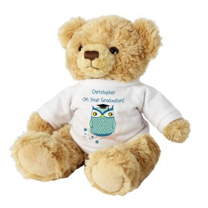 personalised graduation teddy