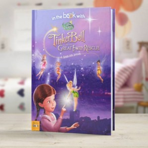 personalised tinkerbell book