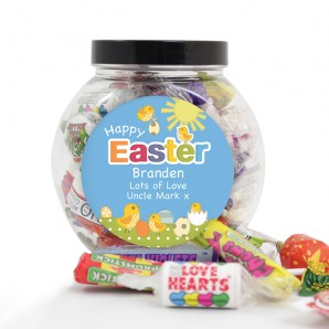 personalised easter sweets