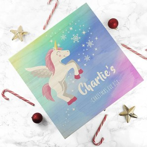 Unicorn Christmas Eve Box