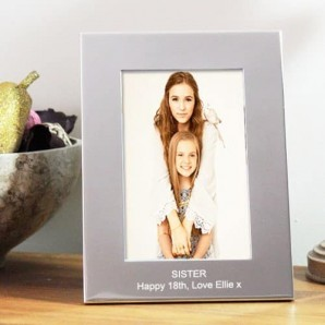 personalised 6x4 photo frames