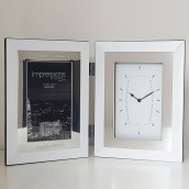 personalised photo frame clock