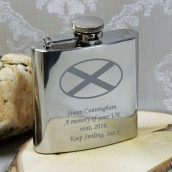 scotland hip flask