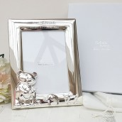 engraved baby photo frame
