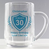 birthday beer tankard