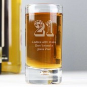 personalised shot glass