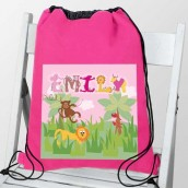 girls animal kit bag