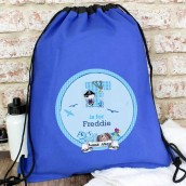 personalised pirate kit bag