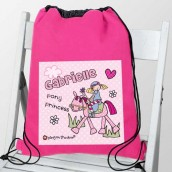 personalised pony kit bag