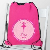 personalised ballet kit bag