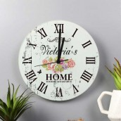 personalised kitchen clock