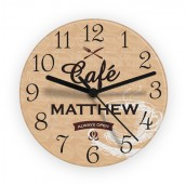 personalised wall clock