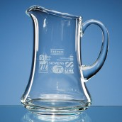 engraved water jug