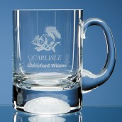 engraved golf tankard