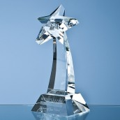 Personalised shooting star trophy award