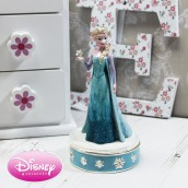 engraved frozen elsa trinket box
