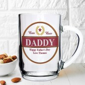beer tankard personalised