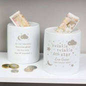 nursery money box