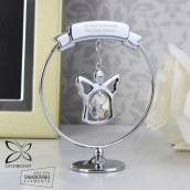 personalised crystal angel