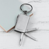 engraved multi function keyring