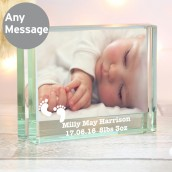 baby picture block