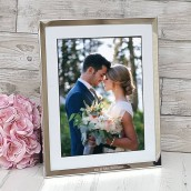 personalised 5x7 photo frame with mount