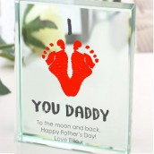 footprint engraved gifts