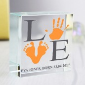 engraved hand print gifts