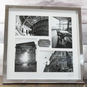 personalised 4 aperture photo frame