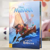 personalised moana book