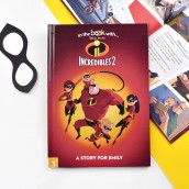 personalised incredibles 2 story book