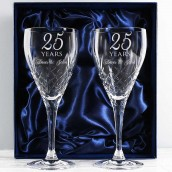 personalised wine glass set