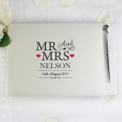 mr and mrs guest book