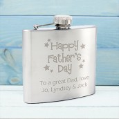 fathers day hip flask