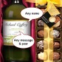 wine and chcolates gift set