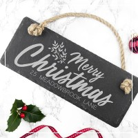 personalised christmas decorations