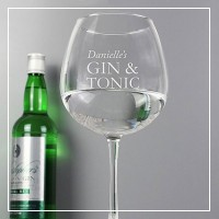 engraved cocktail glass