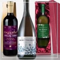 personalised chritsmas alcohol gifts