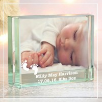 engraved glass photo frames