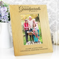 engraved personalised photo frames