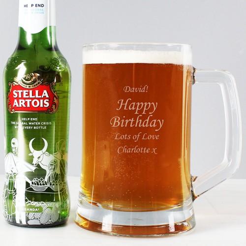 ... Beer Gift Set. Click a thumbnail to enlarge & Personalised Tankard u0026 Beer Gift Set